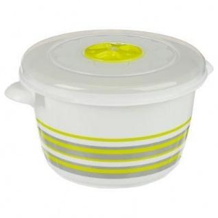 Lebensmittelbehälter 1, 5 L rund, grün - 5five Simple Smart
