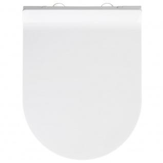 WENKO Premium WC-Sitz Habos Thermoplast , mit Absenkautomatik