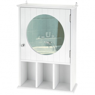 Badezimmer Spiegelschrank Badschrank Spiegel Glas Badregal Hängeschrank