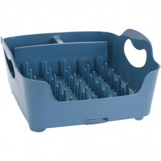 Abtropfgestell, 37x32x16 cm, blau - EH Excellent Houseware