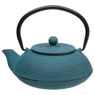 Teekanne aus Gusseisen zum Aufbrühen von Tee , 600 ml