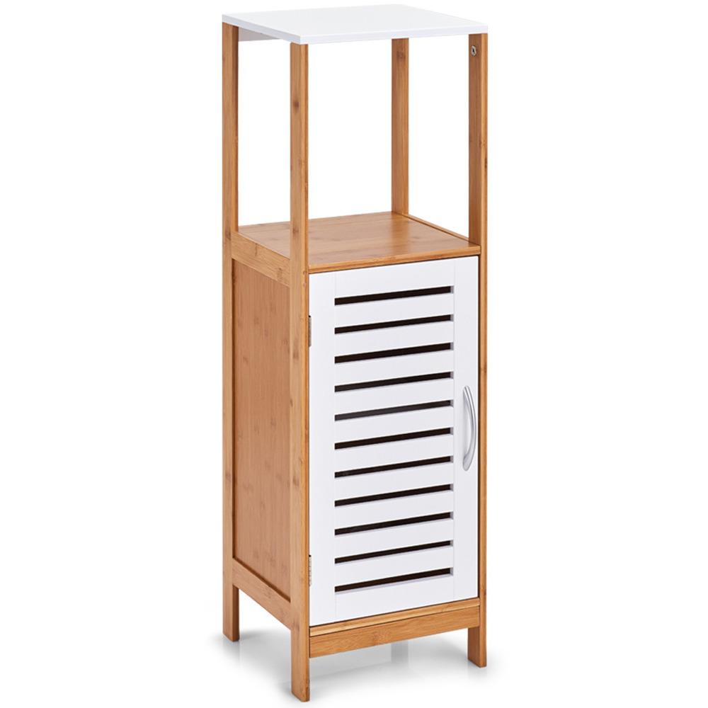 Badezimmerschrank mit Ablage, Badregal, Möbelstück aus Bambus-Kollektion,  Zeller