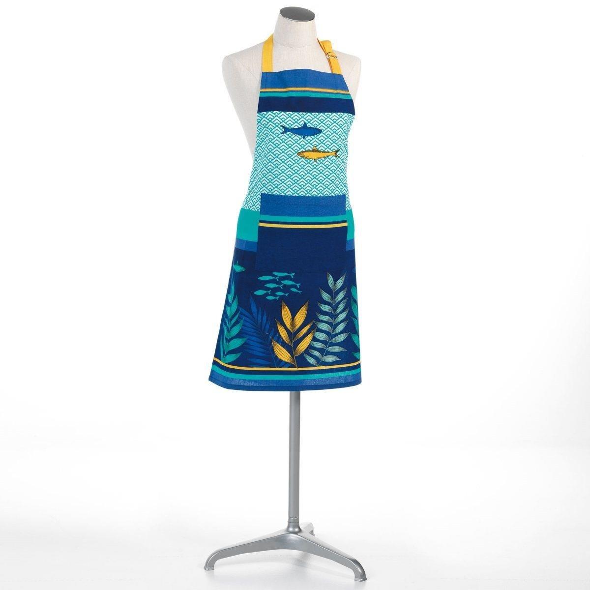 Kochschurze Fur Frauen Blue Lagoon Baumwolle 60 X 84 Cm Blau Kaufen Bei Emako Gmbh