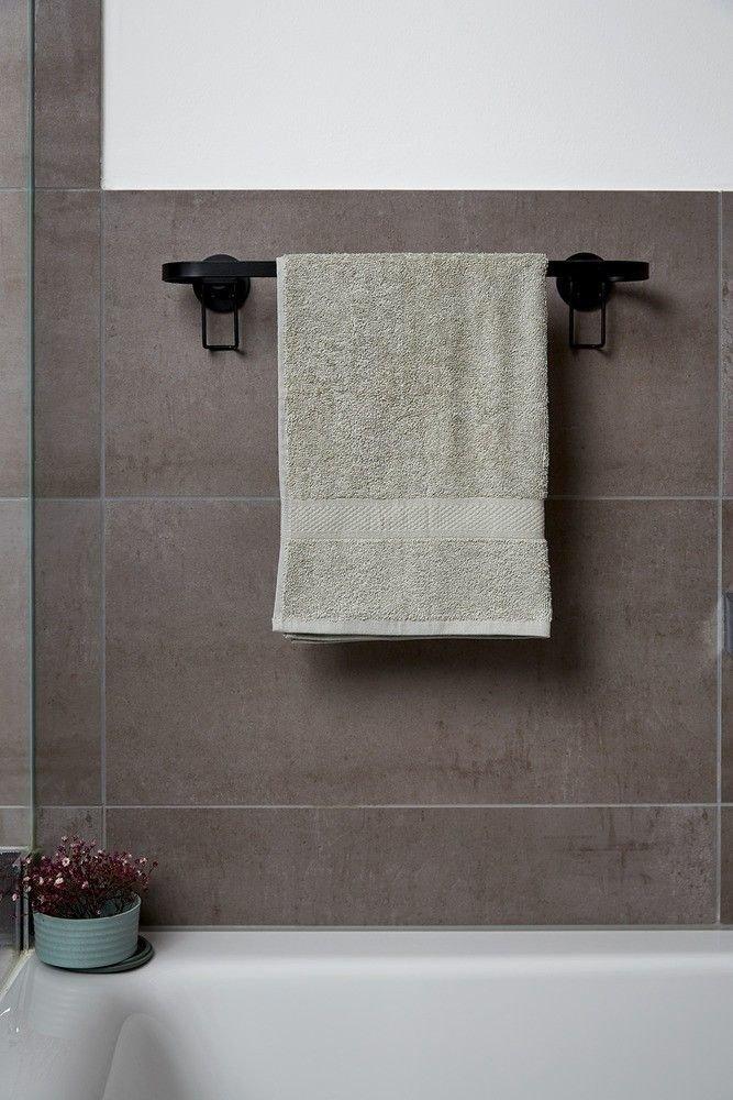 Handtuchhalter Classic Plus Badezimmer Handtuchhalter Schwarz
