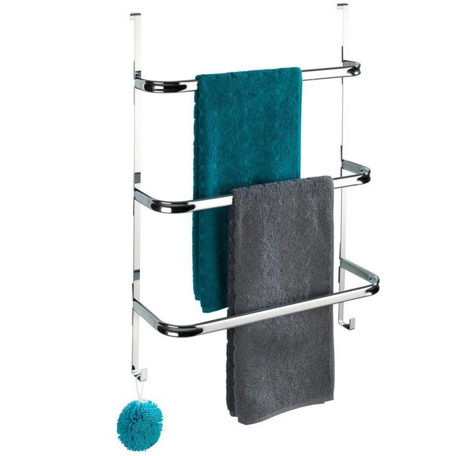 Handtuchhalter an der Tür schwarz IRPINIA Wenko Kaufen