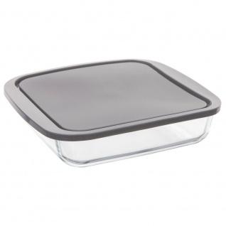 Hitzebeständige Schale mit Deckel, Universalbehälter zum Aufbewahren oder Backen