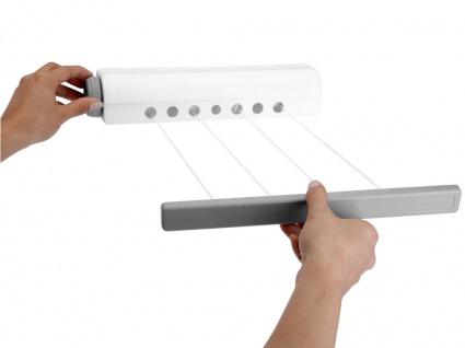 Leinen-Wäschetrockner, automatisches Rückrollen