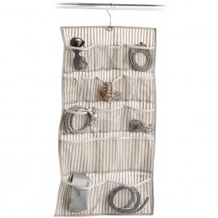 Textile Organizer für Kleinteile, Hängematte mit Taschen für Zubehör - ZELLER