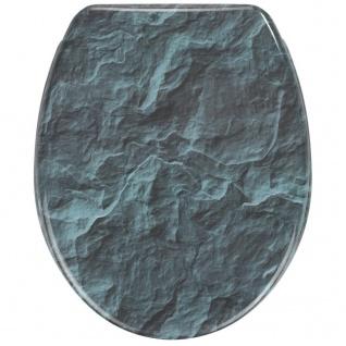 WENKO WC-Sitz Slate Rock