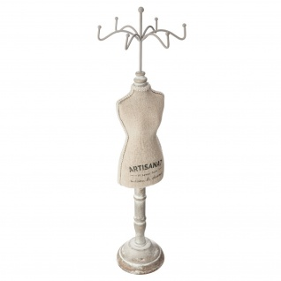 Halskette Rack MANEKIN, 40 cm, beige glatt - Atmosphera