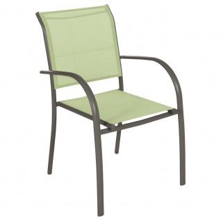 Gartenstuhl, Balkon, Farbe grün - Vorschau 1