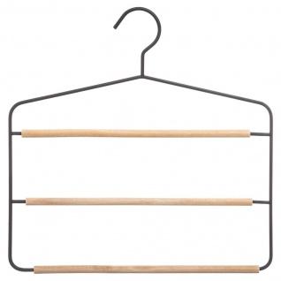Rock Kleiderbügel, Hose, 3 Ebenen, Metall - 5five Simple Smart