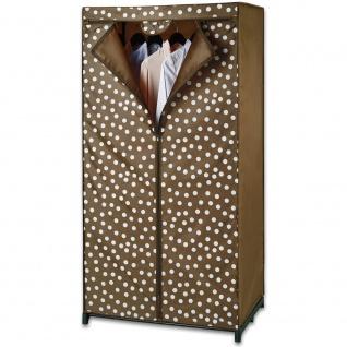 Textilkleiderschrank PREYTY WOMAN, Kleiderschrank, 150x75x50cm, WENKO