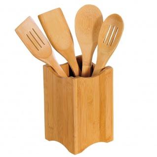 Kesper Küchenhelfer-Set 5teilig, Bambus, braun, 11 x 18 x 11 cm, 5-Einheiten - Kesper