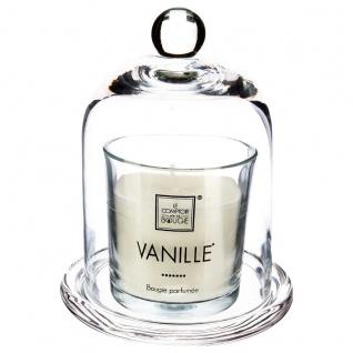 VANILLA PERFUMED GLASS CANDLE - Atmosphera