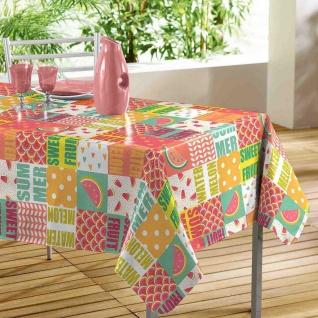 Tischdecke, rechteckig, SWEET FRUIT, 140 x 240 cm, mehrfarbig