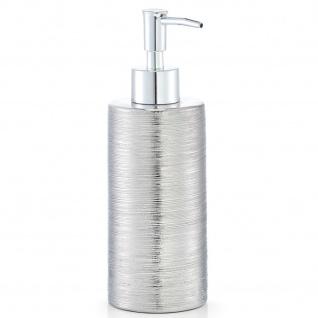 Seifenspender aus Keramik, Badezimmer-Behälter für Flüssigkeiten.