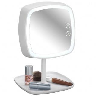 Kosmetikspiegel OSTIA mit der Funktion der LED-Lampe 5-fach Vergrößerung WENKO