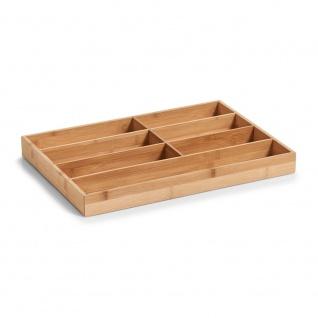 ZELLER, Besteckbehälter, Beitrag zur Schublade - 7 Fächer, 44 x 30, 6 x 4, 3 cm