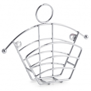 ZELLER Küchentuchhalter, Metal Chrome