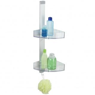 Eckregal für Badezimmer CADDY Premium - bis zu 2 Ebenen, WENKO