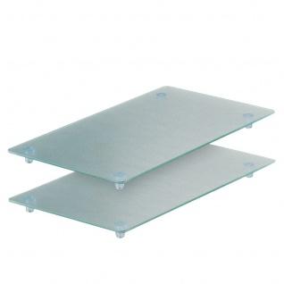 Glasschneideplatten, 2-er Set