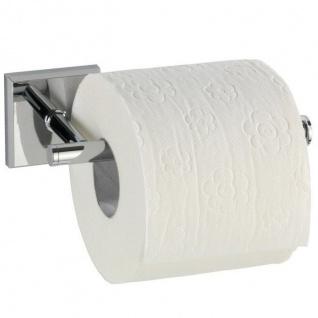 Toilettenpapierhalter LACENO silbern, WENKO