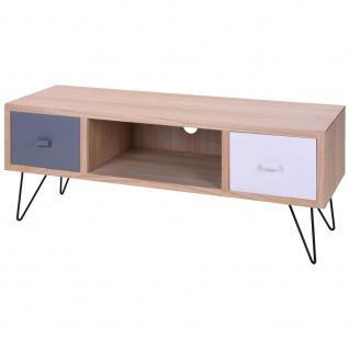 Home Styling Collection, Schrank mit 2 Schubladen CABINET, Kommode TV