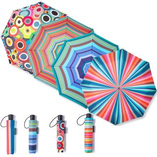 Remember Taschenschirm Babette Kunststoff, Schirmseide, Metallverstrebungen - Remember