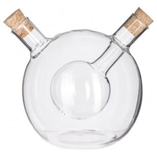 Secret de Gourmet, Glasspender für Öl und Essig - 2in1 - Vorschau 1
