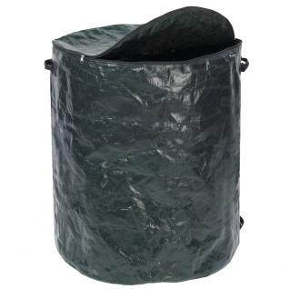 Gartentasche mit Reißverschluss, Polyestertasche mit Deckel und 2 Griffen - 275 l, WENKO