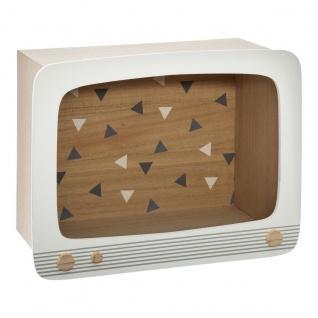 Regal in TV-Form für Kinderzimmer - Atmosphera for kids - Vorschau 1