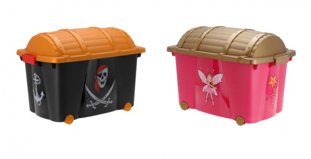 Truhe - Spielzeugbox PIRATEN