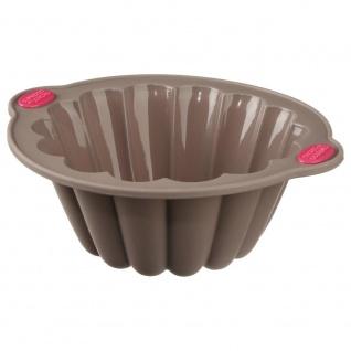 Secret de Gourmet, Runde Form zum Backen Kuchen - Silikon, 22 cm
