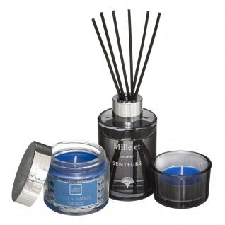 Aroma-Diffuser und 2 Kerzen, MERVEILLEUX Set, Rose und Mandel