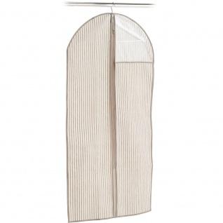ZELLER Anzugbezug mit transparentem Fenster, Textilbezug für Kleidung, 120 x 60 cm