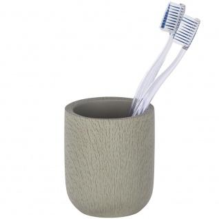 Zementbehälter für Zahnbürste, dekorativer Badezimmerbecher JOY - WENKO