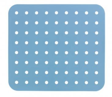 Schutzmatte für Spüle blau, 31 x 27, 5 cm, Wenko