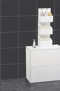 Wenko Organizer Adria zum Aufhängen, Badkörbe, 3 Ebenen, Polypropylen, weiß, 15, 5 x 25 x 72 cm - Vorschau 5