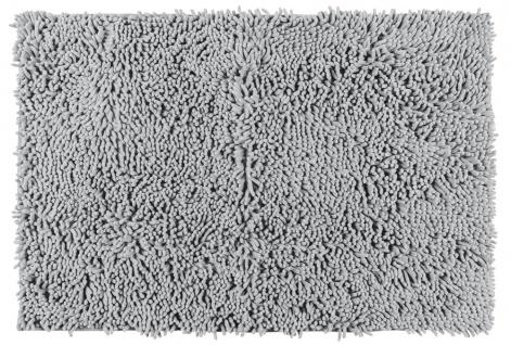 Antirutschmatte mit weichen Fasern Badteppich Dekosteg 80x50cm WENKO