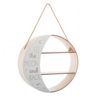 Mondregal mit Seil für Kinderzimmer Bohème - Atmosphera for kids