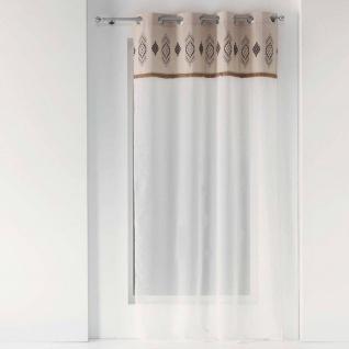 Gardine für Wohnzimmer KATAVI, 140 x 240 cm