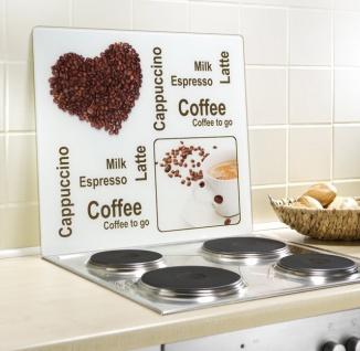 Wenko, Motivplatte Kaffeegenuss, Glas