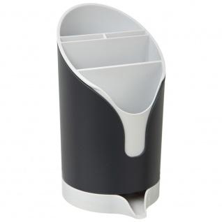 Abtropfgestell, Praktischer Bestecktrockner aus Kunststoff in und