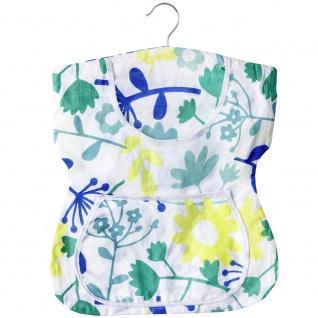 WENKO, Wäscheklammer-Kleid, 100 % Baumwolle, 33 x 45 cm, Mehrfarbig