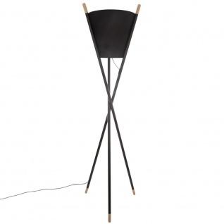 Stehlampe weiß, 165 cm, dreibeinig - Atmosphera