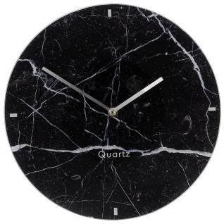 Wanduhr aus Glas MARBLE FINISH, Ø 30 cm - Segnale