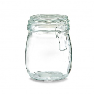 Lebensmittelbehälter, Glas mit Deckel, 750 ml, ZELLER - ZELLER