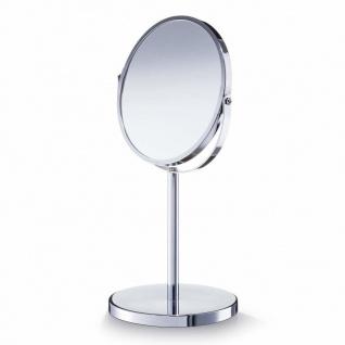 Kosmetikspiegel, drehbar, doppelseitig, Vergrößerung x 3, ZELLER - Vorschau 1