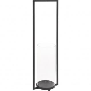 Metall Kerzenlaterne, modische Kerzenständer - 60 cm Höhe